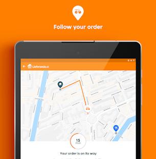 Lieferando.at – Order food v7.7.2 screenshots 10