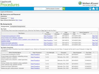 Lippincott Procedures v4.2.91 screenshots 8