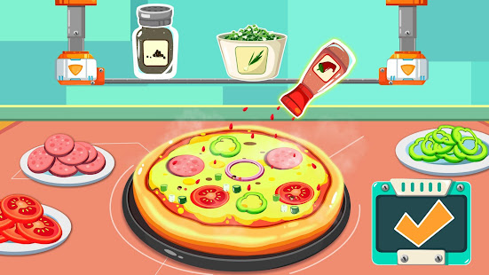 Little Pandas Space Kitchen – Kids Cooking v8.57.00.02 screenshots 10