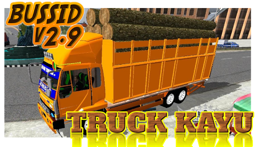 Livery Bussid Mod Truck Kayu v1.5 screenshots 1