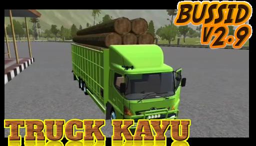 Livery Bussid Mod Truck Kayu v1.5 screenshots 4