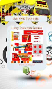 Livery Mod Truck Isuzu NMR71 v4.0 screenshots 2