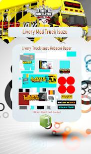 Livery Mod Truck Isuzu NMR71 v4.0 screenshots 3