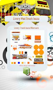 Livery Mod Truck Isuzu NMR71 v4.0 screenshots 4