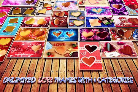 Love Photo frames Collage v1.09 screenshots 11
