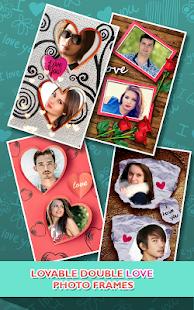 Love Photo frames Collage v1.09 screenshots 2