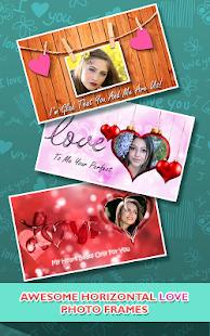 Love Photo frames Collage v1.09 screenshots 5