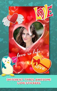 Love Photo frames Collage v1.09 screenshots 7