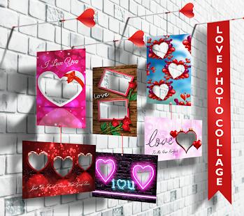 Love Photo frames Collage v1.09 screenshots 9