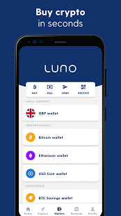 Luno Buy Bitcoin Ethereum and Cryptocurrency v7.18.0 screenshots 3