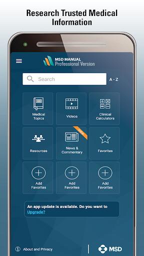 MSD Manual Professional v screenshots 1