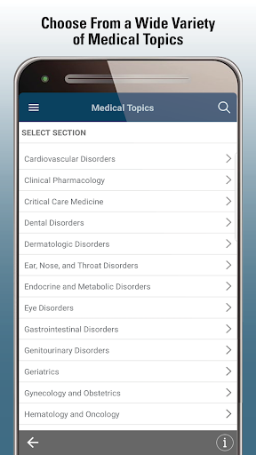 MSD Manual Professional v screenshots 2