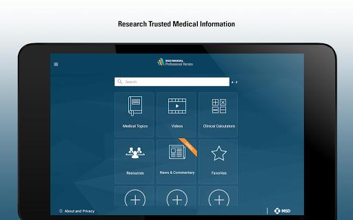 MSD Manual Professional v screenshots 8