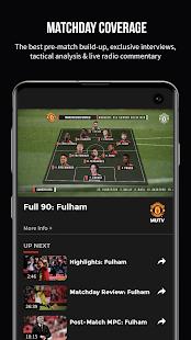 MUTV Manchester United TV v2.9.6 screenshots 1