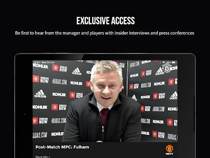MUTV Manchester United TV v2.9.6 screenshots 10