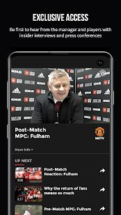 MUTV Manchester United TV v2.9.6 screenshots 2