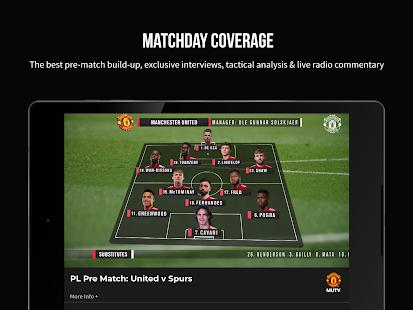 MUTV Manchester United TV v2.9.6 screenshots 9