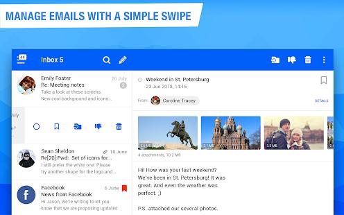 Mail.ru – Email App v13.16.0.33623 screenshots 8