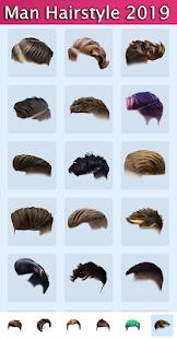Man Hairstyles Photo Editor v1.5 screenshots 1