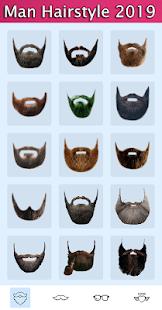 Man Hairstyles Photo Editor v1.5 screenshots 5