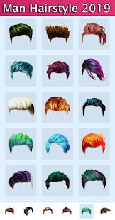 Man Hairstyles Photo Editor v1.5 screenshots 7