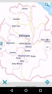 Map of Ethiopia offline v1.5 screenshots 1