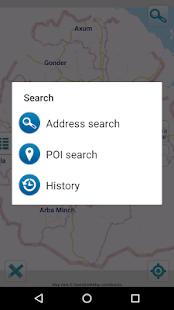 Map of Ethiopia offline v1.5 screenshots 2