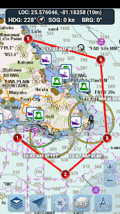Marine Ways – Free Nautical Charts v screenshots 1