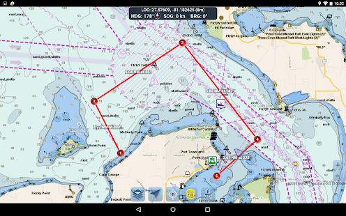 Marine Ways – Free Nautical Charts v screenshots 17