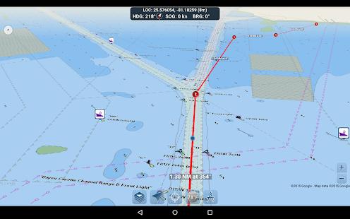 Marine Ways – Free Nautical Charts v screenshots 19