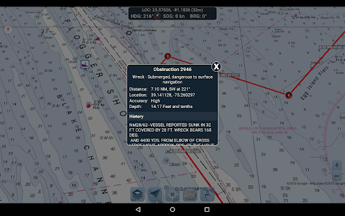 Marine Ways – Free Nautical Charts v screenshots 20