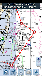 Marine Ways – Free Nautical Charts v screenshots 5