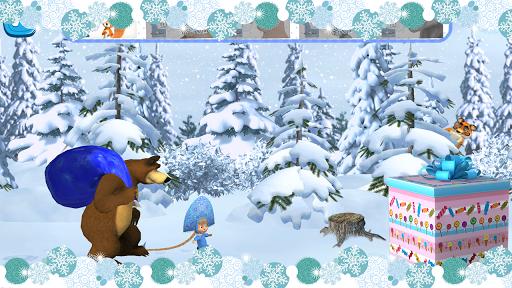 Masha and The Bear Xmas shopping v1.1.3 screenshots 1