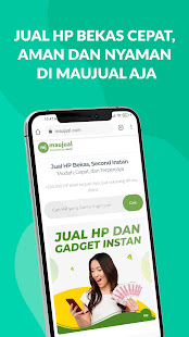 Maujual – Jual HP Bekas Second Cepat v5.0.8 screenshots 1