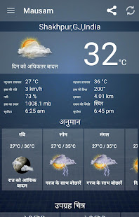 Mausam – Indian Weather App v6.3 screenshots 1