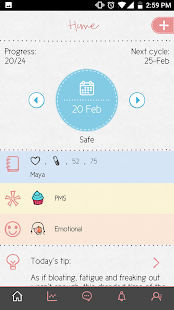 Maya – Period Fertility Ovulation amp Pregnancy v3.6.9.5 screenshots 6