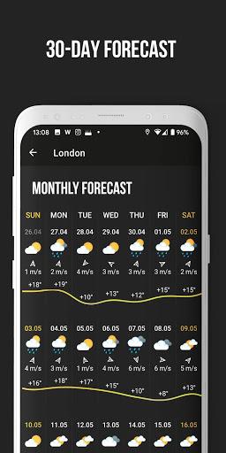 MeMeteo – uv index and weather widget v3.9.0 screenshots 4