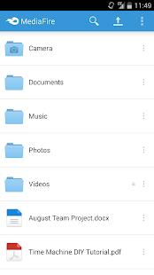 MediaFire v4.2.2 screenshots 3