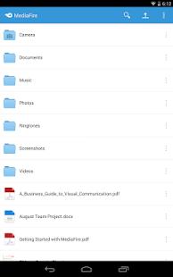 MediaFire v4.2.2 screenshots 9