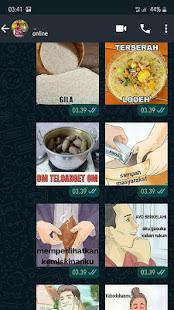 Meme Perang Gambar Stiker WA – WAStickerApps v7.2 screenshots 6