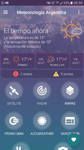Meteorologa Argentina v5.3.10 screenshots 1