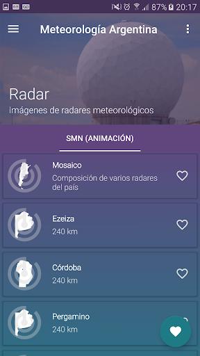 Meteorologa Argentina v5.3.10 screenshots 4