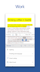 Microsoft Word Write Edit amp Share Docs on the Go v16.0.14131.20166 screenshots 3