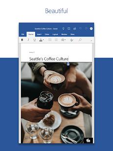 Microsoft Word Write Edit amp Share Docs on the Go v16.0.14131.20166 screenshots 6