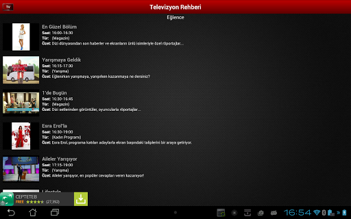 Mobil Canl Tv v2.6.0 screenshots 10