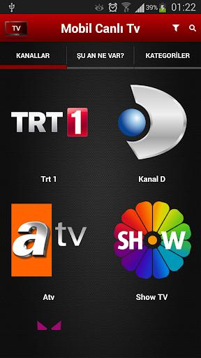 Mobil Canl Tv v2.6.0 screenshots 2