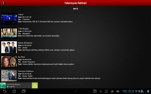 Mobil Canl Tv v2.6.0 screenshots 8