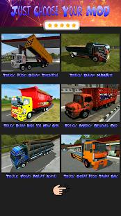 Mod BUSSID Dump Truck v1.6 screenshots 2