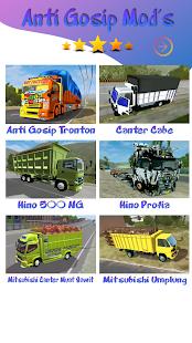 Mod Truck Canter Anti Gosip BUSSID v screenshots 2