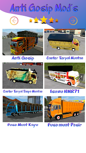Mod Truck Canter Anti Gosip BUSSID v screenshots 3